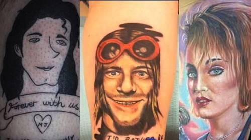 Nejšílenější tetování celebrit