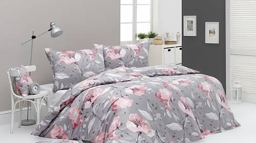 Nechte se také okouzlit nadčasovou elegancí florálního vzoru v jemných pastelových barvách povlečení Amabel.