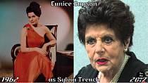Herečka Eunice Gayson coby Sylvia Trench