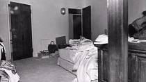 V tomto pokoji hospodyně Marilyn objevila.