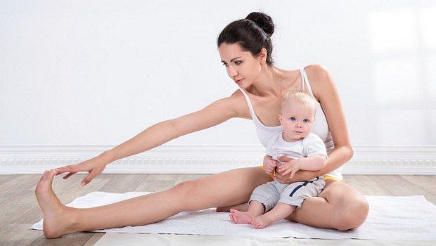FOTO A CVIKY PRO VÁS: Jak cvičí maminky s dětmi!
