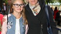 Veronika Stropnická s dcerou Kordulou