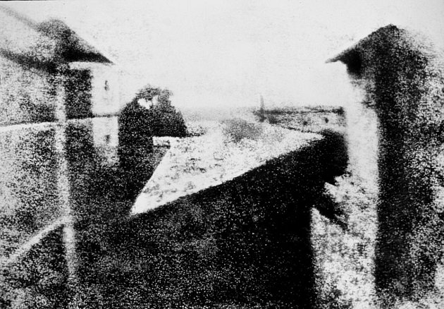 Pohled z okna v Le Gras
