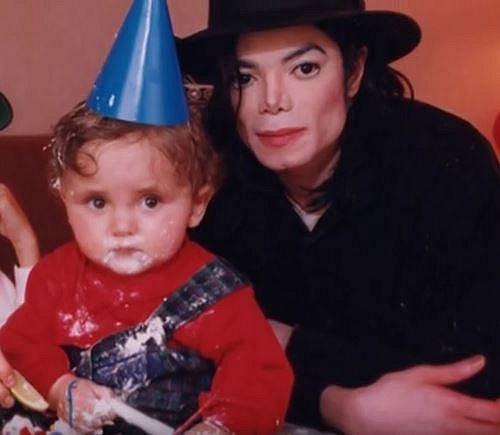 Michael Joseph s tatínkem