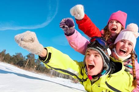 5 zimních sportů, které vás dostanou do formy