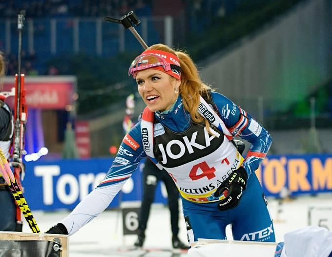 Gabriela Soukalová je jednou z našich nejznámějších sportovkyň.