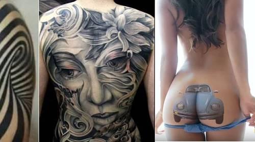 Originální tetování