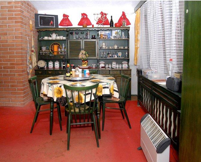 Petr Vondráček nás překvapil zelenou barvou, která dominuje jeho kuchyni.