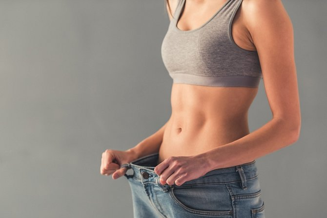 Střed těla nesouvisí s počtem kilogramů.