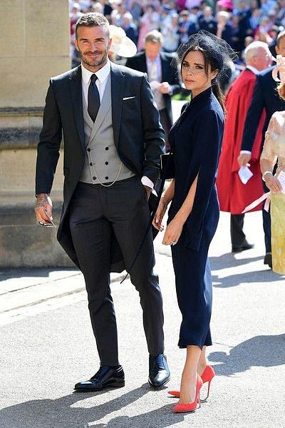 David Beckham a Victoria