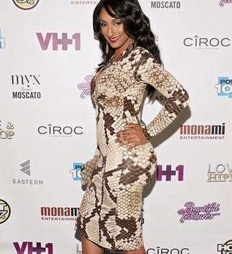 Erica Jean - Tato kráska je známá z reality show zaměřených na hip hop, kam se zkrátka vrtění velkými sexy zadečky hodí.