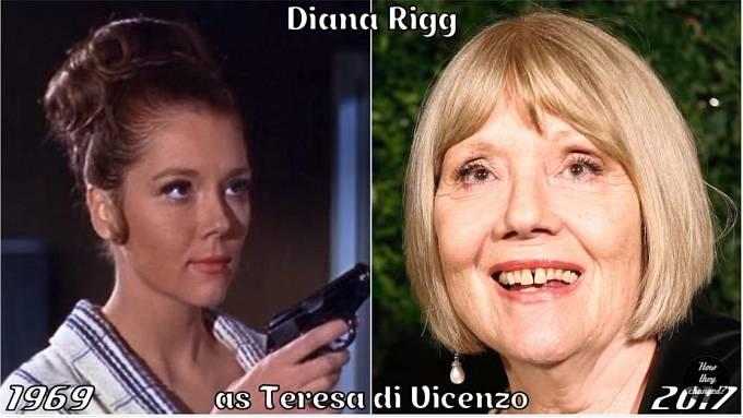 Herečka Diana Rigg coby Teresa di Vicenzo