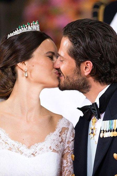 Královská svatba v červnu 2015 se těšila velké pozornosti.