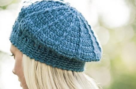 Šikovné ruce - Háčkujeme baret + inspirace jak ho nosit