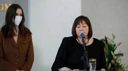 Ivana Zemanová promluvila o manželovi.