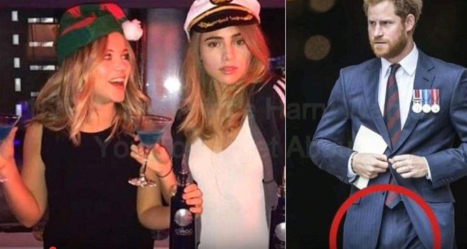 Dvě mladé dívky z předchozího divokého večírku nenechali Harryho klidným