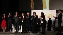 V Plzni se uskutečnila předpremiéra filmu Karel.