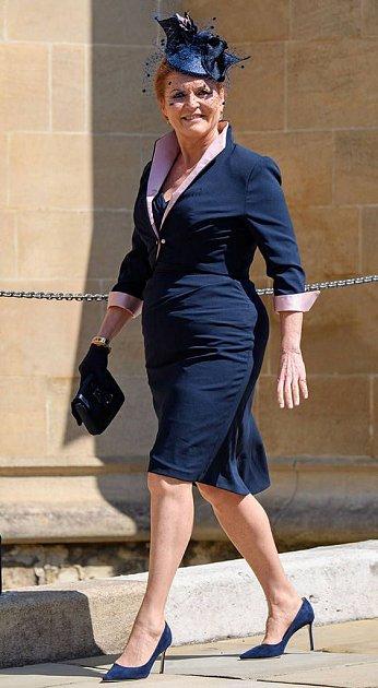 Sarah Ferguson je černou ovcí britské královské rodiny.