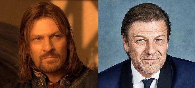Syna správce Gondoru Boromira, který se nechal na chvíli zlákat ke zlu, ale nakonec se obětoval pro vyšší dobro, si zahrál Sean Bean. Svojí karmu si u milovníku fantasy vylepšil hlavně coby Eddard Stark ve Hře o trůny.