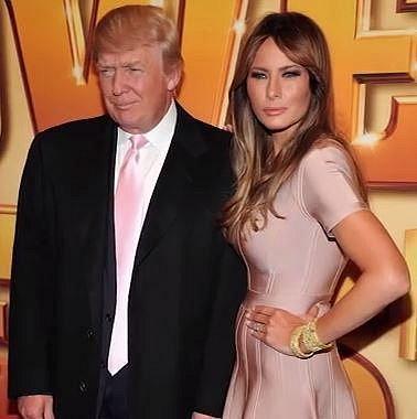 Donald Trump a Melanie Trump