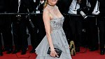 Diane Kruger předvedla překrásný model s holými zády a přeplněným dekoltem.