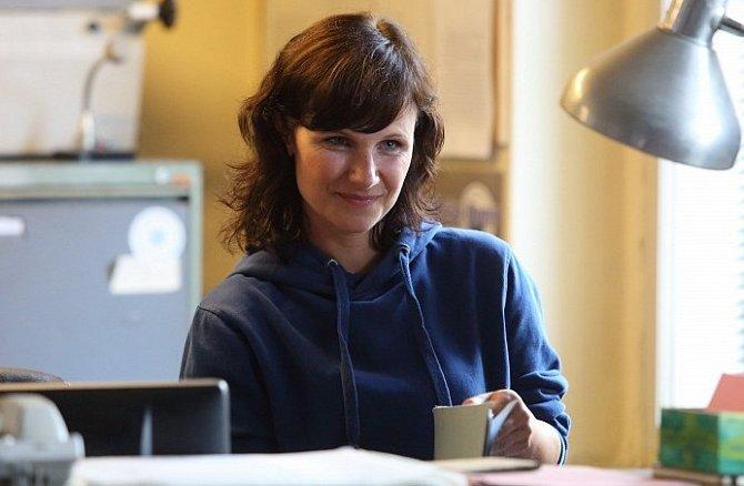 Kristýna Nováková-Fuitová v seriálu Temný kraj