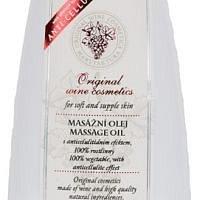 Vinný masážní olej