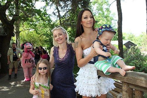 Veronika Žilková, dcery a vnuk