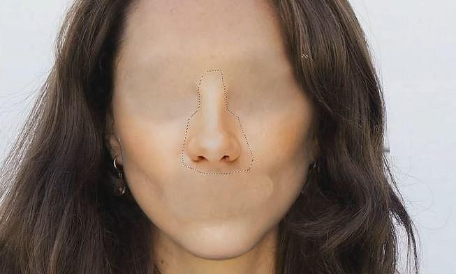 Nos je zkrátka ideální, ani malý, ani velký... Patří herečce. :-)