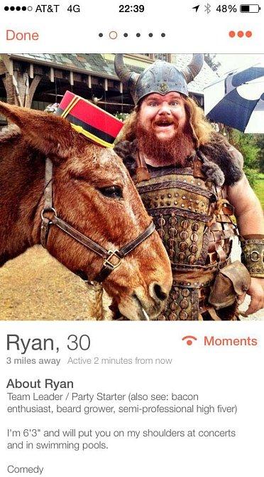 Viking a má osla! Kdo by ho nechtěl?