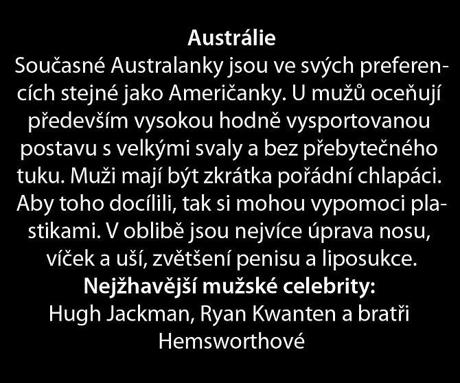 Co se líbí ženám ve světě i v Čechách