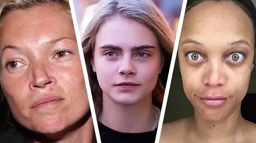 TOPMODELKY: Živí je vzhled, přesto jsou bez make-upu k nepoznání a ROZHODNĚ NE KRÁSNÉ!