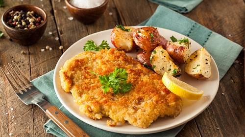 Řízky na pět způsobů: Pikantní, bezlepkové, plněné meruňkami, v sýrové krustě a ovčácké