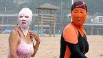 Tyto strašidelné masky ochrání obličej před slunečním zářením lépe než nejsilnější opalovací krém.
