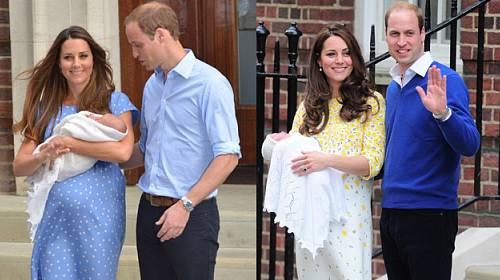 Proč byla vévodkyně Kate poprvé v modré a podruhé měla podpatky, a v čem opustí porodnici potřetí?