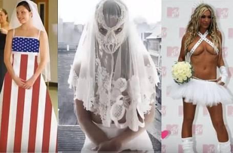 Nejšílenější svatební šaty