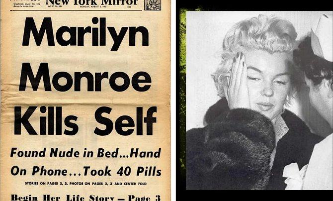 19. Mnoho lidí si myslelo, že spáchala sebevraždu, když slyšeli o její smrti. Právě spekulace o jejím odchodu ze světa pomohly NY Times a ostatním novinám vydělat balík, protože prodej novin s tímto tématem trhal dvanáct dní rekordy.