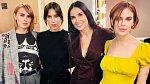 Demi se její tři dcery vůbec nevypadají jako matka s dětmi.