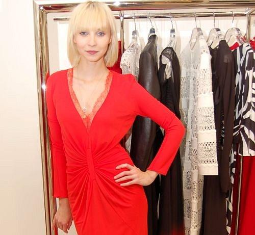 Jana Plodková, butik Dior