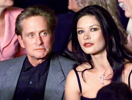 Michael Douglas a Catherina Zeta-Jones - 24 let