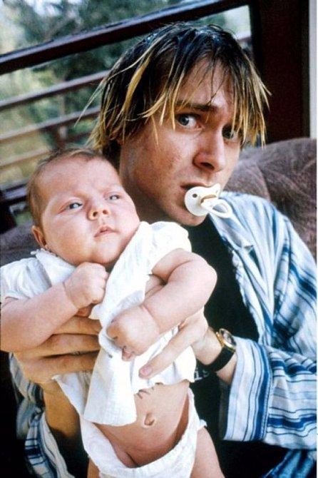 Kurt Cobain s dcerou  Frances Bean