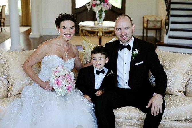 Luke to uměl rodičům naplánovat - svatba a pak bráška.