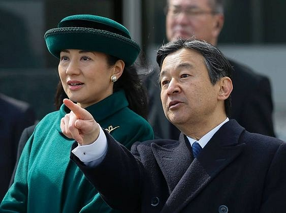 Korunní prince Naruhito a princezna Masako