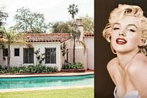 Marilyn Monroe a její dům v Brentwoodu