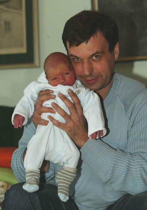 Petr Rychlý má tři syny.
