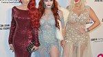 Farrah Abraham, Sophia Vegas Wollersheim, Phoebe Price - Tyto tři béčkové hvězdičky se předávěly na party Eltona Johna.