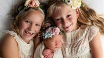 Steven s Becky mají tři krásné dcery.
