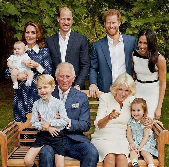 Nejbližší rodina prince Charlese