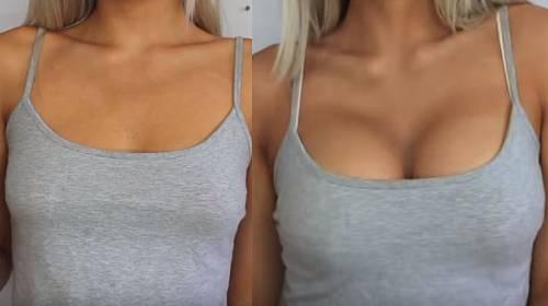 BEZVA FINTA: Jak zvětšit prsa pomocí make-upu?