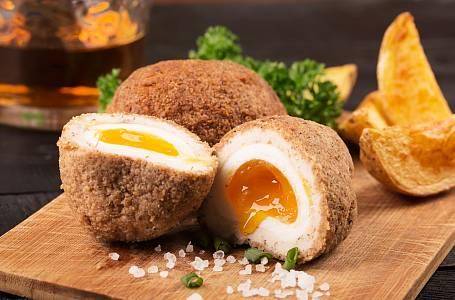 Skotská vejce jsou skutečnou lahůdkou. Sytá a neotřelá.